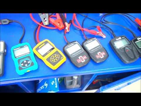 Сравнение аккумуляторных тестеров