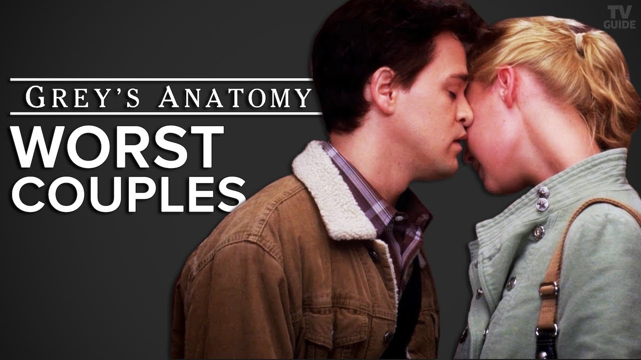 Greys Anatomy Worst Couples Ranked Seasons 1 14 Youtube