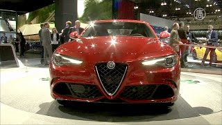 видео Alfa Romeo представила свой новый седан Giulia