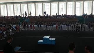 Спортивная гимнастика. 3 разряд. 28.04.18. Арефьев Егор(7)