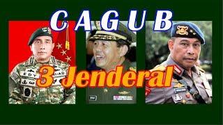 3 Jenderal TNI POLRI Cagub Pilkada Serentak 2018