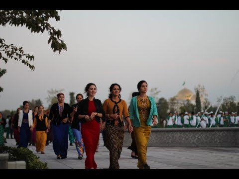 ► Luxury, lonely and scarifying Streets of Ashgabat - Turkmenistan