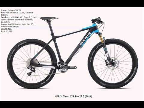 "TOP 10 MOST WANTED MTB Hardtails 27.5"" (650b) 2014"
