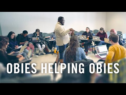 Student Life At Oberlin College: Obies Helping Obies