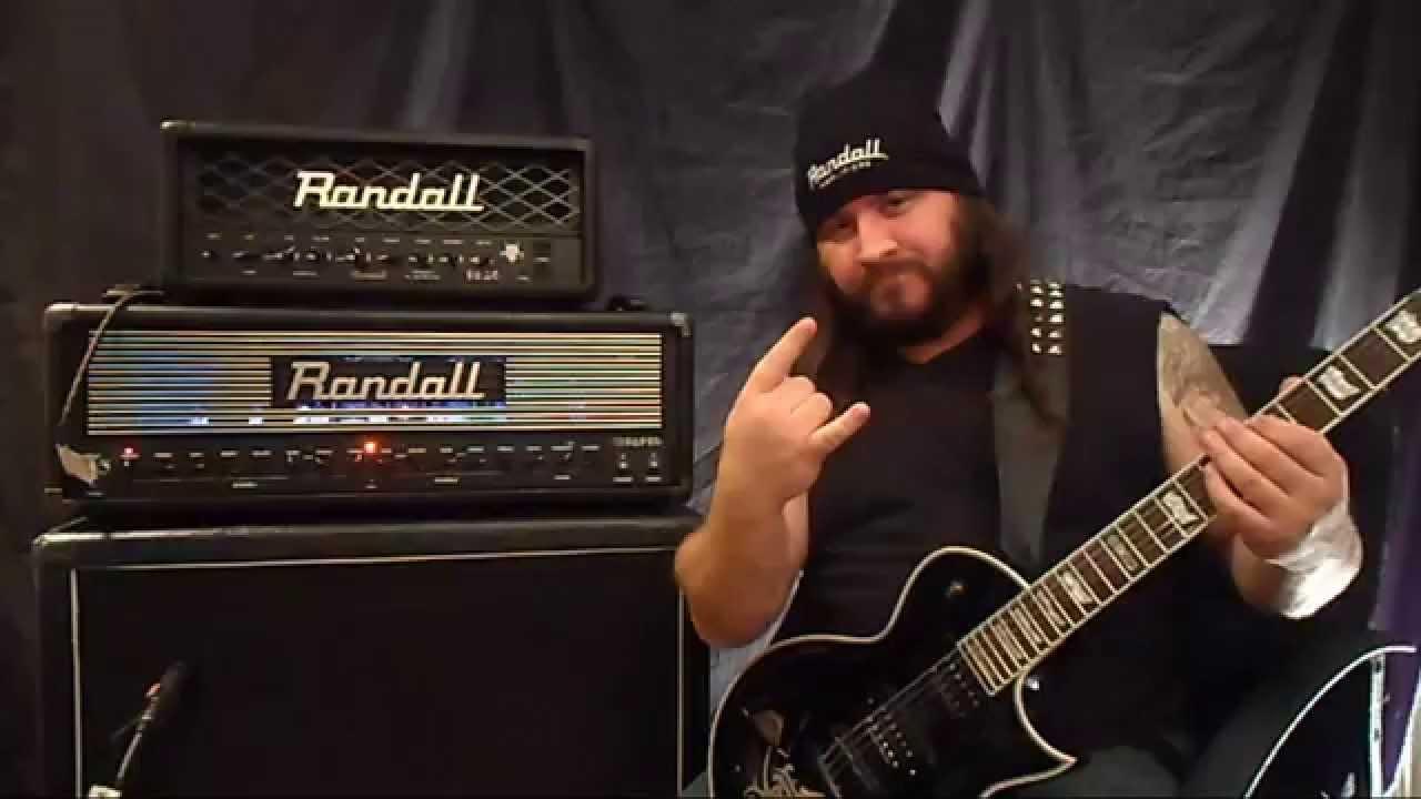 Jason Constantine - ESP EC1000 Deluxe Duncan & Randall Thrasher Demo