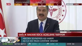 Türkiye'de korona virüsünden ilk ölüm: Bugün ilk hastamızı kaybettik
