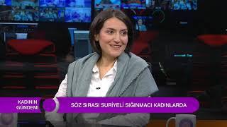 Suriyeli Sığınmacı Kadınlar Woman TV'de!