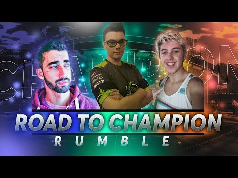 ¡EN EL PEOR ESTADIO! ROAD TO CHAMPION #41 ~ ROCKET LEAGUE thumbnail