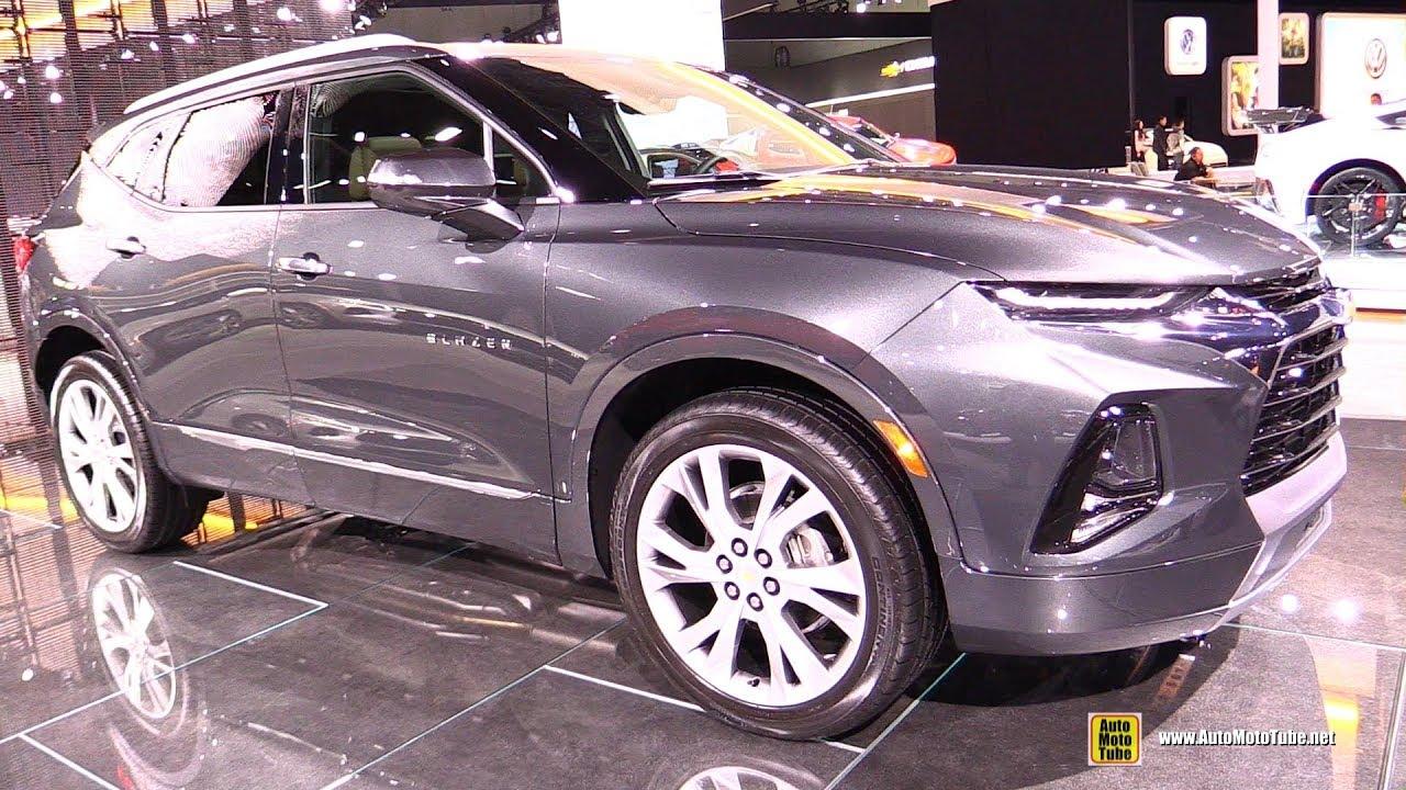 2019 Chevrolet Blazer Exterior And Interior Walkaround Debut At