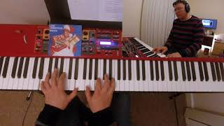 George Michael - Last Christmas cover on piano