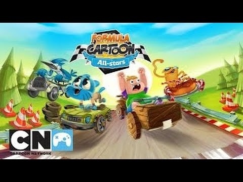 Formula Cartoon All Stars By Cartoon Network Kart Racing Game App For Kids Youtube