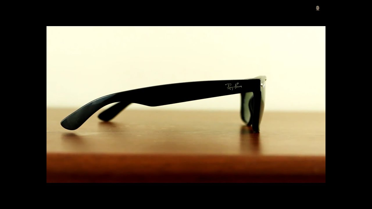 c418fd60c7c Ray-Ban New Wayfarer Sunglasses - YouTube
