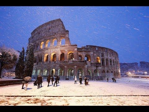 Το «κτήνος εξ ανατολής» σαρώνει την Ευρώπη: Κατάλευκη η Ρώμη, δριμύ ψύχος σε Βρετανία
