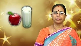 Apple Milkshake | Mallika Badrinath Recipes | Drinks