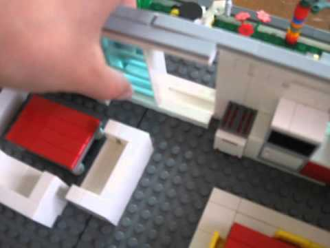 grande maison en lego avec design2 youtube. Black Bedroom Furniture Sets. Home Design Ideas