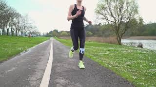 Asics Colour Block 2 Womens 7//8 Training Tights Black