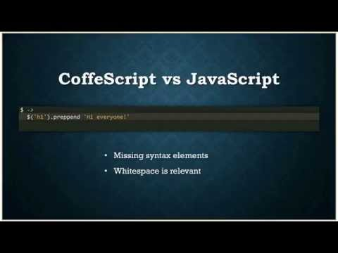 Coffee Script Основы (Workshop) - #FFF013
