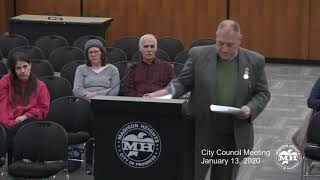 Madison Heights City Council Meeting - January 13, 2020