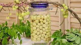 Star Gooseberry Pickled  How To Make Star Gooseberry Pickled  Pickled Recipes