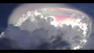 チリ地震前に観測された地震雲 ちょっと怖い映像です・・・ 地震雲 検索動画 13