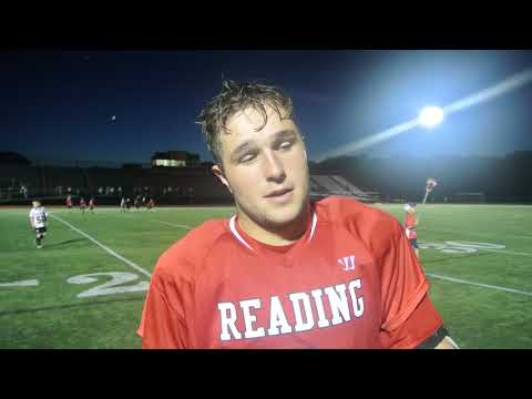 VIDEO: Reading junior laxmen Mike Tobin talks about the team's first-ever D-2 North title