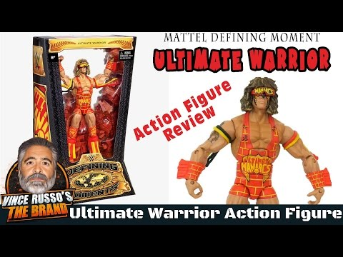 Ultimate Warrior Action Figure Review - Mattel Defining Moment
