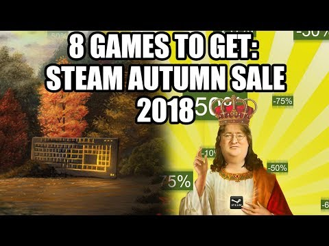 8 Games to Get on the Steam Autumn Sale 2018 - Under 20 USD