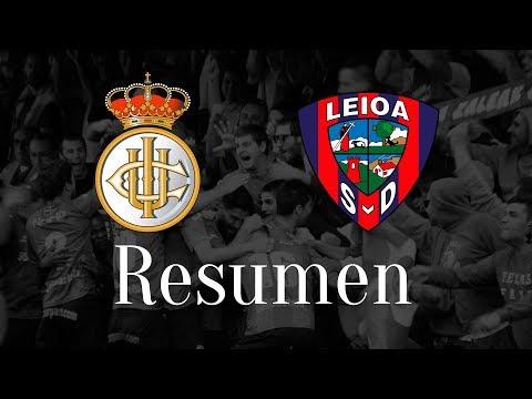 Resumen del Real Unión Club - SD Leioa (1-2)