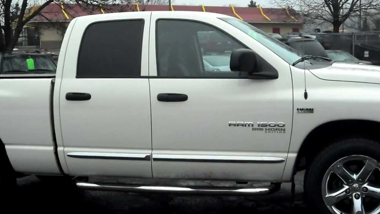 2006 Dodge Ram 1500 Slt Big Horn Edition Crew Cab 4dr