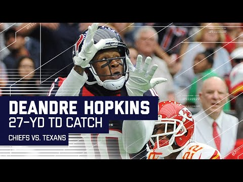 J.J. Watt Fumble Recovery Sets Up DeAndre Hopkins TD | Chiefs vs. Texans | NFL