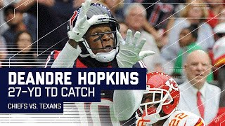 J.J. Watt Fumble Recovery Sets Up DeAndre Hopkins TD | Chiefs vs. Texans | NFL