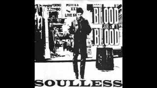 """BLOOD FOR BLOOD - Soulless 7"""" (1996)"""