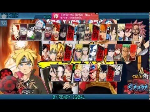 تحميل لعبة Naruto Senki Otaku Anime أندرويد Youtube