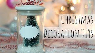 4 DIY Ideen zu Weihnachten I Room Decoration