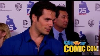 Henry Cavill Talks Superman/Batman Teamup at Superman 75th Anniversary Comic-Con Party