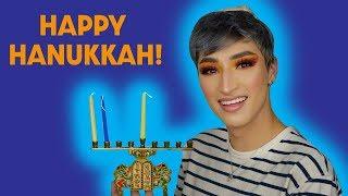 Happy Hanukkah Glam (Holiday Makeup Tutorial)