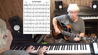 Flat Foot Floogie - Jazz guitar & piano cover ( Slim Gaillard )