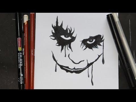 How To Draw Joker Joker Drawing For Kids Youtube