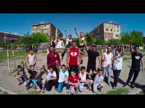Workout in Ararat city (Street Workout Armenia)