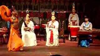 Musique et dance traditionnelle chinoise