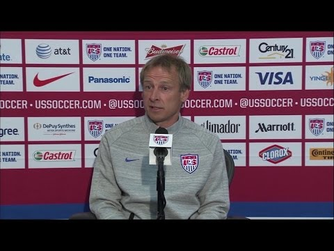 Jurgen Klinsmann Press Conference after World Cup Roster Ann