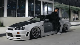 The World's FIRST Bagged R34 Skyline..