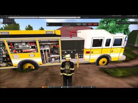 Second life--Emporia fire department Recruitment video-- Come join!