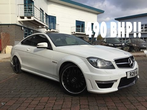 SCARING MYSELF IN A 490 BHP C63 AMG!! | Mercedes C63 AMG Review
