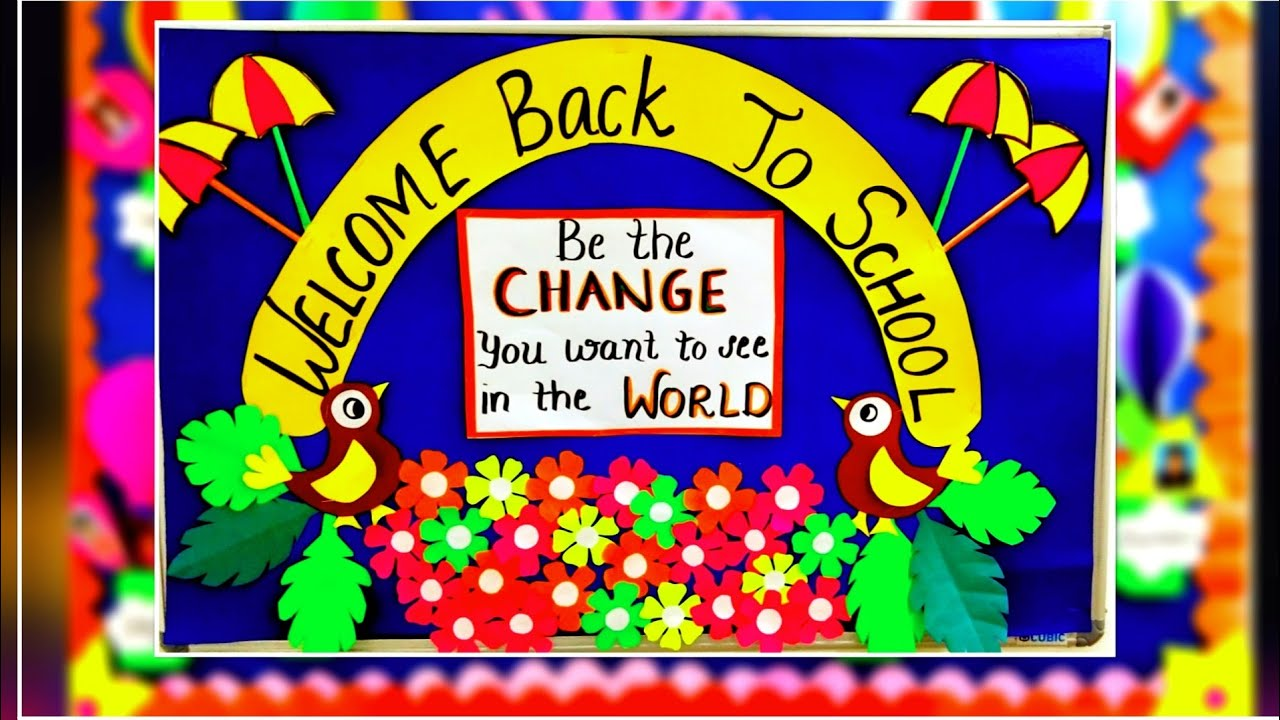Welcome Back To School Bulletin Board Ideas Welcome Bulletin