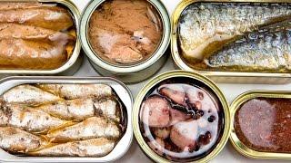 Рыбные консервы: как выбрать и что приготовить