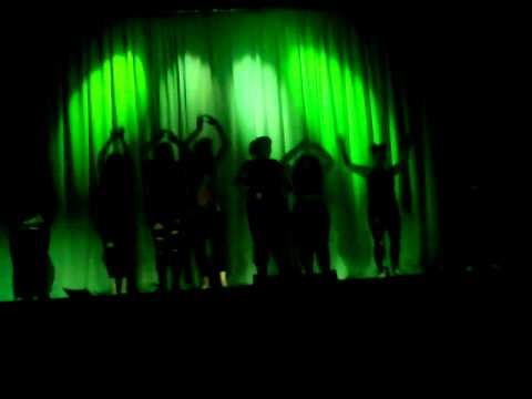 Zubaidah performing to Creepy Crawler by Zombie Girl
