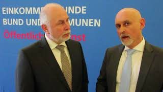 Pressekonferenz zu den Forderungen in der Einkommensrunde 2018 Bund und Kommunen