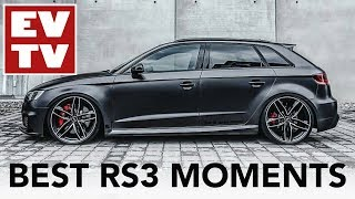 Best Audi RS3 moments!