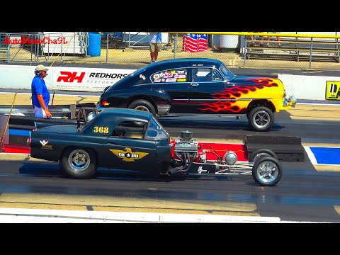 DRAG RACING OLD SCHOOL CARS REUNION GLORY DAYS 70s AND OLDER VINTAGE WILD RACE SMOKEY BURNOUTS
